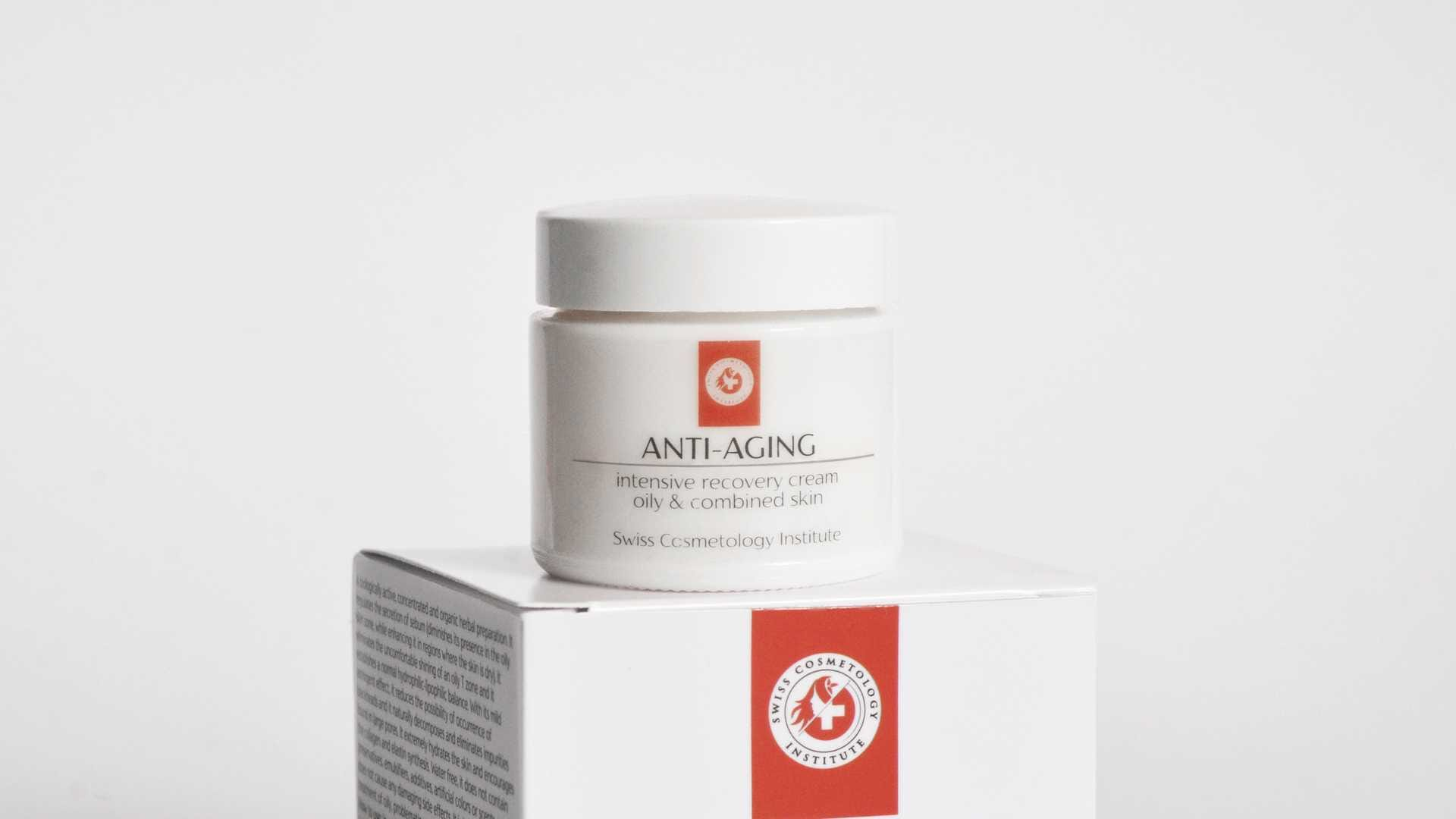 09. Intesive recovering cream OILY & COMBINED SKIN